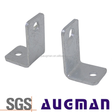 Fashionable decorative stainless support angle bracket metal shelf wood braces