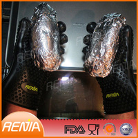 RENJIA waterproof heat resistant gloves grill gloves withstand heat barbeque gloves
