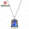 Hotest Smart Jewelry with Smallest Intellgent Chip Triangle Pendant Necklace