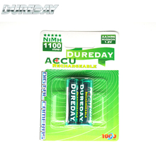 Size AA HR6 NI-MH rechargeable battery 1100mAh Dry Cell Rechargeable Batteries
