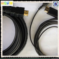 Support 4K 3D 2.5mm 3.3mm mini hdmi cable