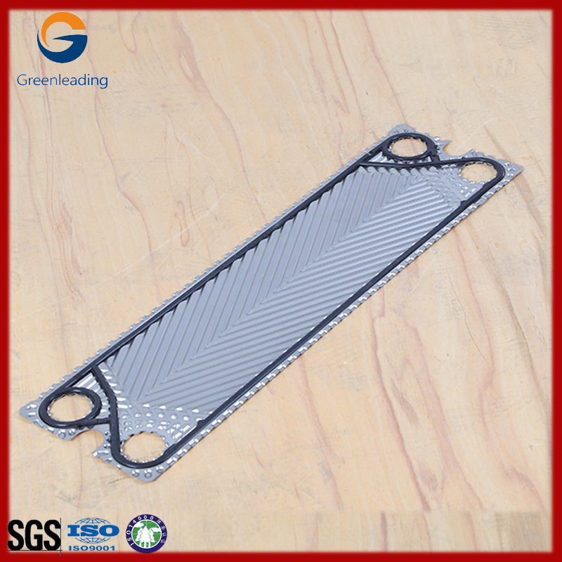 Plate exchanger heat with exchanger gasket, Stainless steel plate with NBR EPDM Gasket