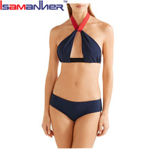 Latest design sexy bikini swimwear women transparent bikini