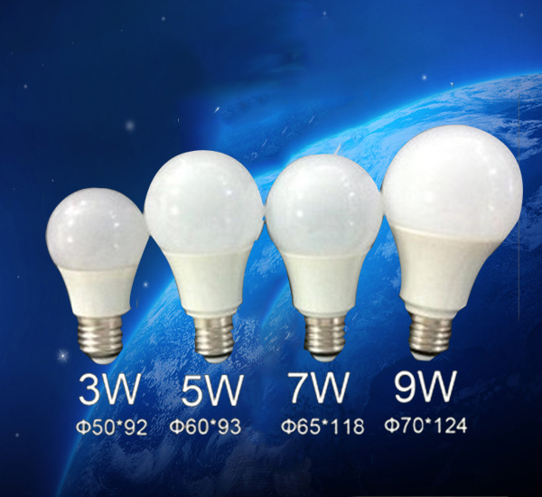 shenzhen hot selling wholesale 5w 7w 9w 12w E27 LED bulb lighting ,LED Light Bulb