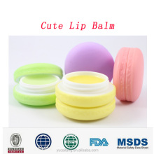 2017 DEXE pure natural top quality chapstick organic roller ball lip balm with 6 fruit flavor