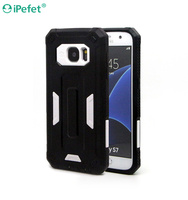 hard plastic and soft rubber double protect design Tpu Phone Case