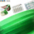 embossed green plastic packing strip
