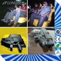 popular 6dof Entertainment Unit motion Exhibition 5d cinema mobile theater