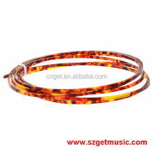 Red Tortoise shell Celluloid 2 mm Width Guitar Binding Purfling 5 Feet Length Red Pearl