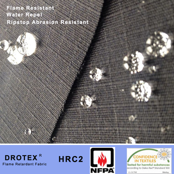 Water Repel Abrasion Resistant THPC Cotton Rip stop Fabric