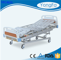 International standard Position adjustable comfortable manual clinic beds