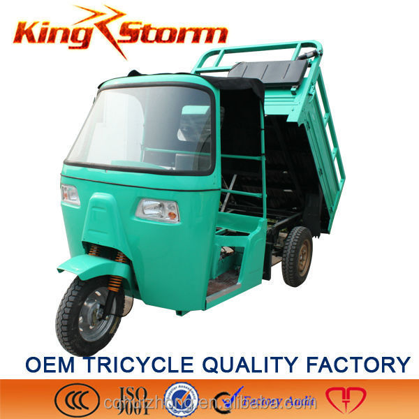 Hydraulic Tricycle with driver cover