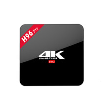 H96 Pro TV BOX S912 Octa core Android 7.0 HD Smart tv box H96 pro 3+16GB Media Player set top box