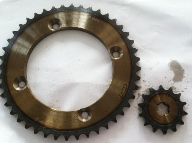 KAWASAKI KLX-150 428-44T-14T 428H-122L/Motorcycle sprocket kit