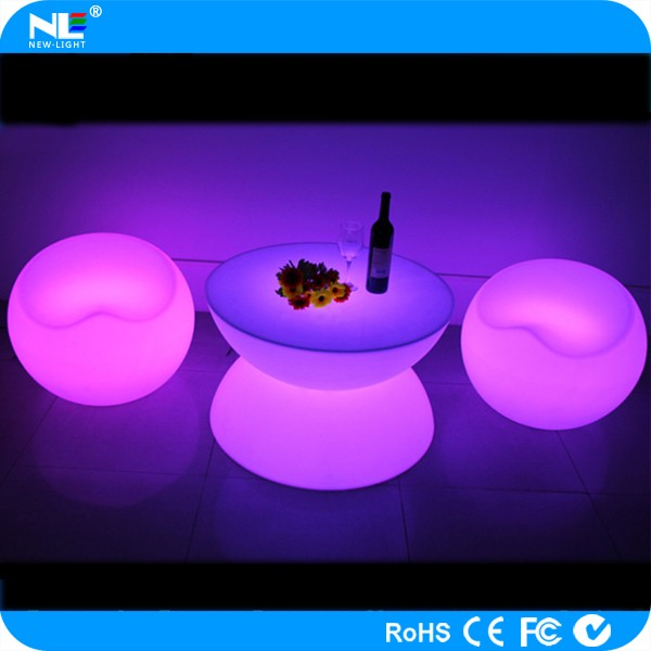 waterproof LED table lamp/rechargeable LED table lamp/colorful LED cocktail light bar table