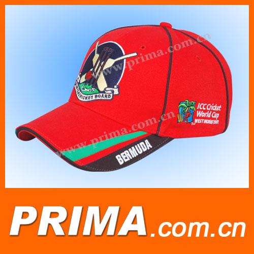 2015 custom fitted outdoor sport baseball caps and hats red