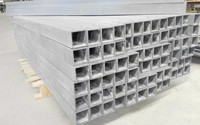 Powergrid fiberglass square tube for structure