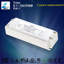dali dimmable driver 30W dc 30-42V led panel light driver constant current 700ma ce rohs led power supply