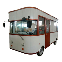 Mobile electric trolley bus food cart van design made in China