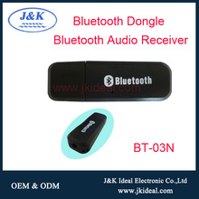 BT-03N Aux bluetooth speaker car kit music transmitter