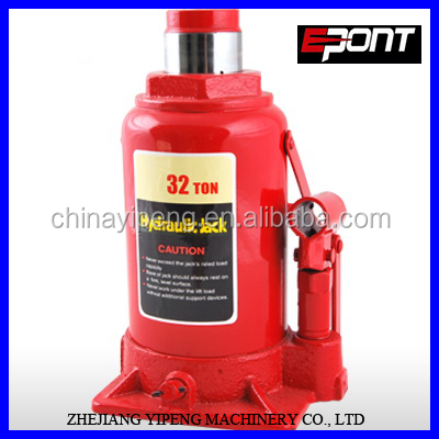 2019 Low Profile High Quality Hand Tool 32 Ton Hydraulic Bottle Jack For Car Repairing