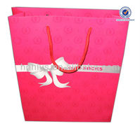 Printing Promotional Paper Bag For Sock