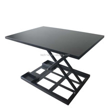 Portable folding table /sit to stand computer desk/workstation laptop table