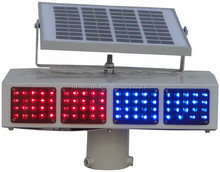 Led Warning Flashing Red Blue Construction Strobe Light