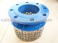 ductile iron basket strainer