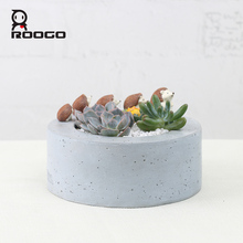 ROOGO Resin Material and Pots Hedgehog Type garden decorative flower planters