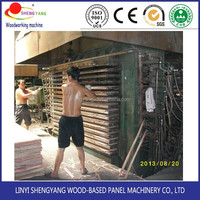 600T and 800T plywood hot heat press machine also can used to do the lamination