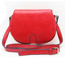 2014 lastest design fashion pu leather messenger bags for teens