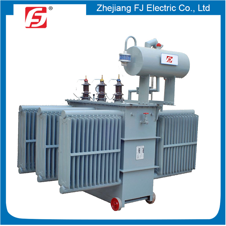 Large Capacity 3 Years Warranty Distrition Transformer 3 Phase Oil Type Step Down 2 MVA Transformer
