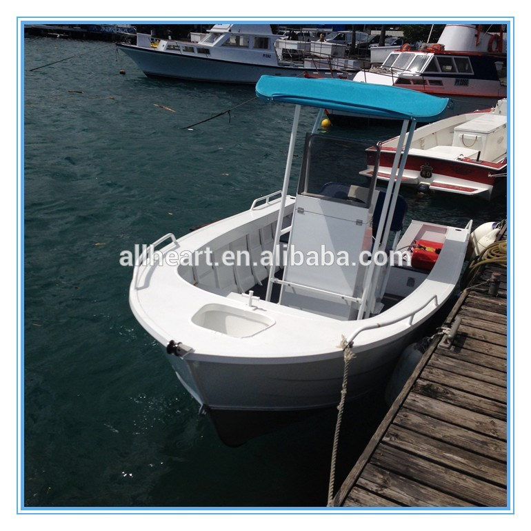 5m hot sale aluminum fishing boat with cuddy cabin plate boat