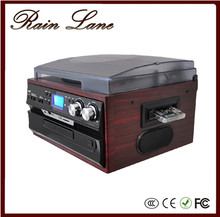 Rain Lane New Style Bluetooth receiver function and external speakers Vinyl LP turntable record player