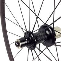 Super Light Carbon Bicycle Wheelset 700C 23/25mm Wide 50mm Straight Pull Hub Road Bike Basalt Brake Surface Carbon Wheels