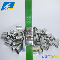 High grade Galvanlized Steel Strap Buckles for Carton Packing