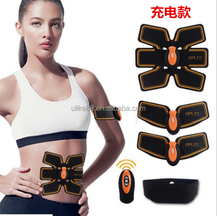 body toning pads abdominal muscle exerciser smart fitness body building belt