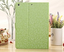 PU belk case for ipad, tablet cover for ipad air