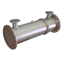 shell & tube water heat exchanger