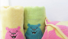 Kids 100% Cotton Face Towel, Wholesales Soft Plain Terry Dobby Small FaceTowel