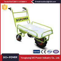 Chinese Products Wholesale Electric Rounds Flat Cart Folding Wagon