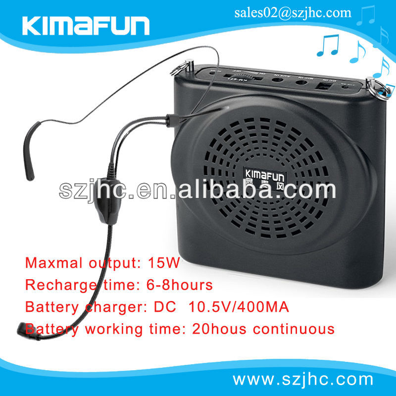 voice amplifier KM-671 the best partner for teacher