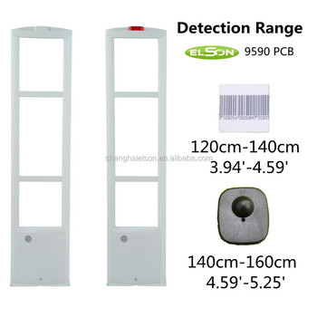 rf frequency jammer system ,EAS System RF security reader alarm security system