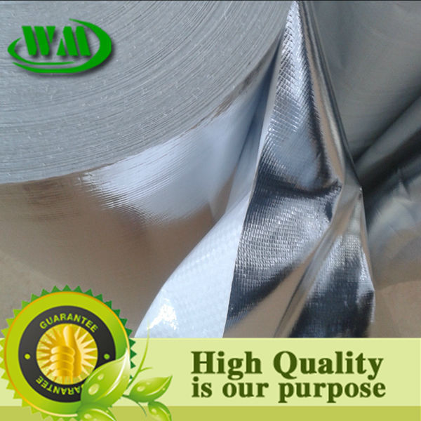 thermal insulation laminated metalized film