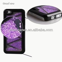 Diamante Case PC Material Cell Phone Shell For Iphone5 gemstone cell phone cover
