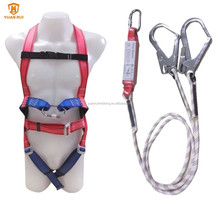 YuanRui YR-QS048 double hooks for full body <strong>safety</strong> harness with parts lanyard