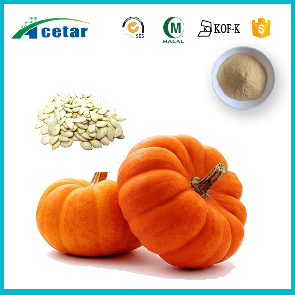 with Kosher, Halal, FDA registered pumpkin powder extract plant-based protein