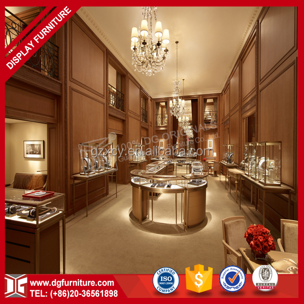 High Quality Display Furniture Counter Jewellery Showroom Design Ideas