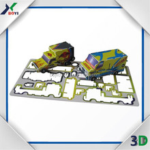 China Factory Mini Custom Plastic 3D Puzzle, Custom Candy/Chocolate/Snack Promotion Toys